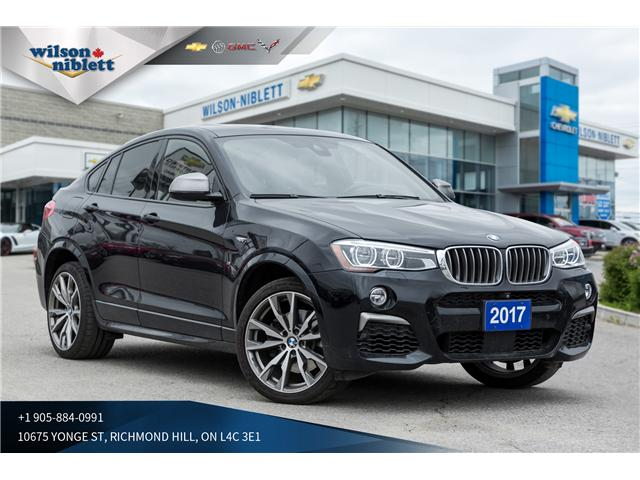 2017 BMW X4 M40i (Stk: UU24938) in Richmond Hill - Image 1 of 21
