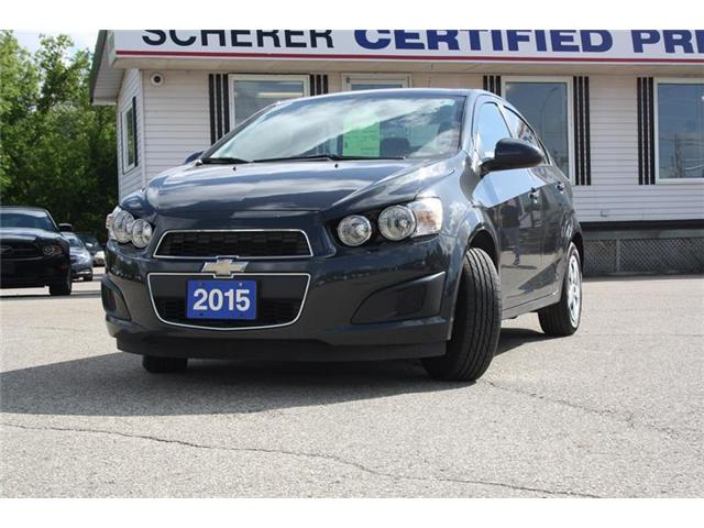 2015 Chevrolet Sonic LT Auto (Stk: 186600A) in Kitchener - Image 1 of 10