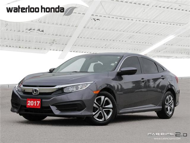 2017 Honda Civic LX (Stk: H3875A) in Waterloo - Image 1 of 28