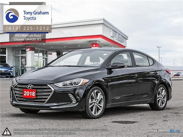 2018 Hyundai Elantra GLS (Stk: U8966) in Ottawa - Image 1 of 24