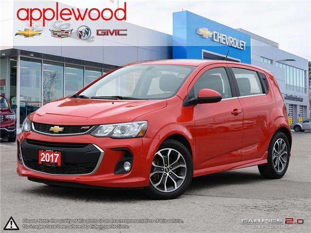 2017 Chevrolet Sonic LT Auto (Stk: 9556P) in Mississauga - Image 1 of 27