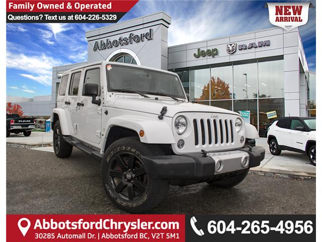 2015 Jeep Wrangler Unlimited Sahara (Stk: J863955A) in Abbotsford - Image 1 of 22