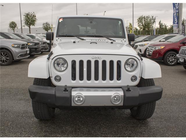 2015 Jeep Wrangler Unlimited Sahara (Stk: J863955A) in Abbotsford - Image 2 of 22