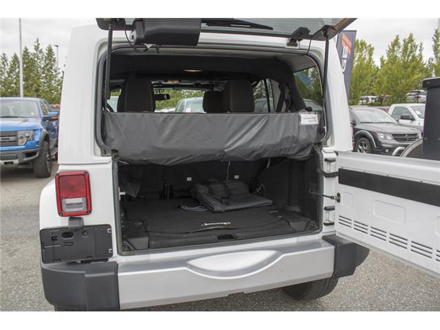 2015 Jeep Wrangler Unlimited Sahara (Stk: J863955A) in Abbotsford - Image 9 of 22
