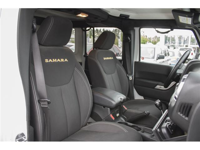 2015 Jeep Wrangler Unlimited Sahara (Stk: J863955A) in Abbotsford - Image 14 of 22
