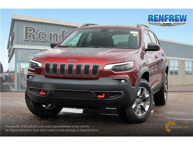 2019 Jeep Cherokee Trailhawk (Stk: K001) in Renfrew - Image 1 of 20