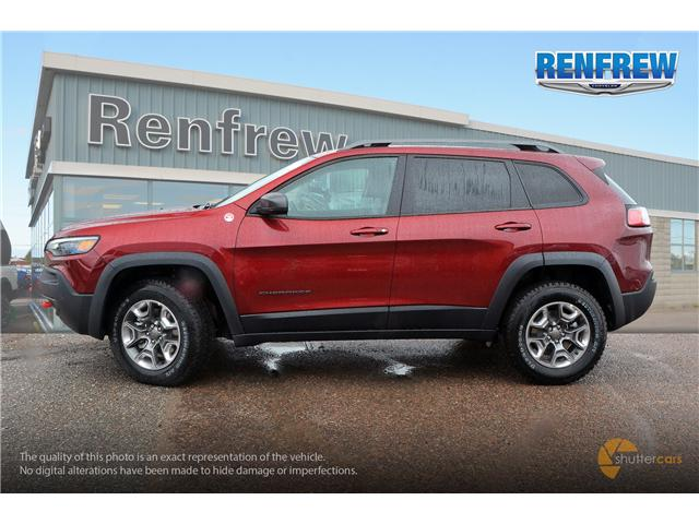 2019 Jeep Cherokee Trailhawk (Stk: K001) in Renfrew - Image 3 of 20
