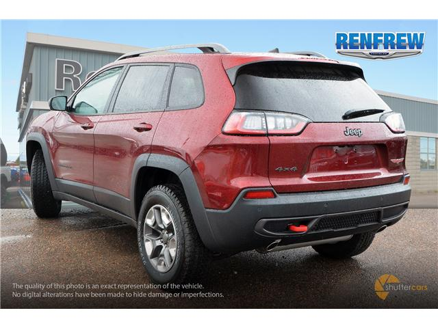 2019 Jeep Cherokee Trailhawk (Stk: K001) in Renfrew - Image 4 of 20