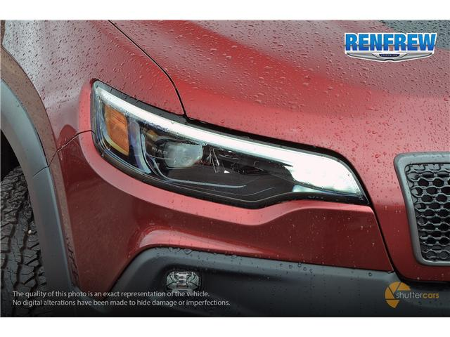 2019 Jeep Cherokee Trailhawk (Stk: K001) in Renfrew - Image 7 of 20