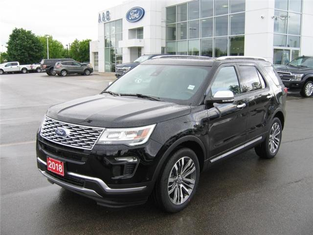 2018 Ford Explorer Platinum (Stk: 18344) in Perth - Image 1 of 12