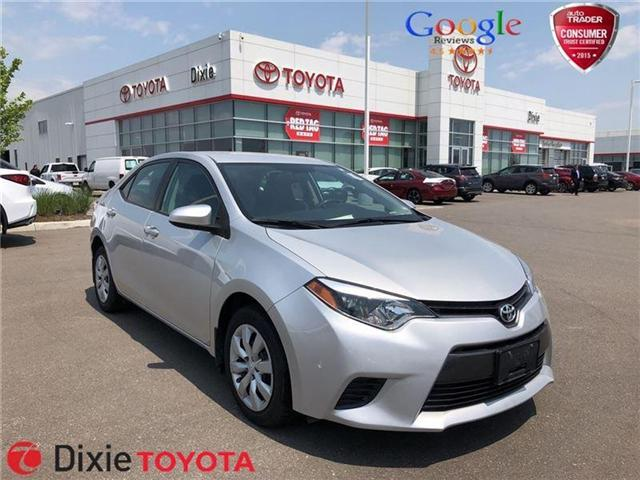 2015 Toyota Corolla LE (Stk: D180565A) in Mississauga - Image 1 of 13