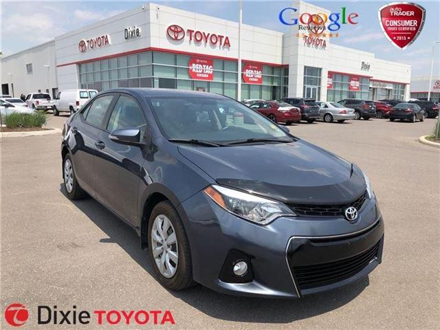 2015 Toyota Corolla  (Stk: D181724A) in Mississauga - Image 1 of 16