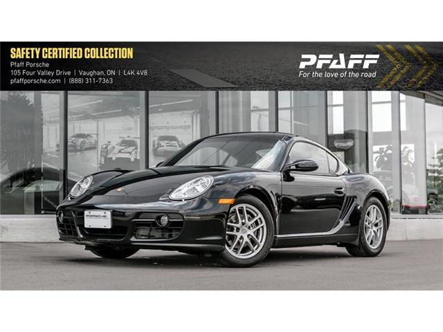 2007 Porsche Cayman  (Stk: U7037A) in Vaughan - Image 1 of 9