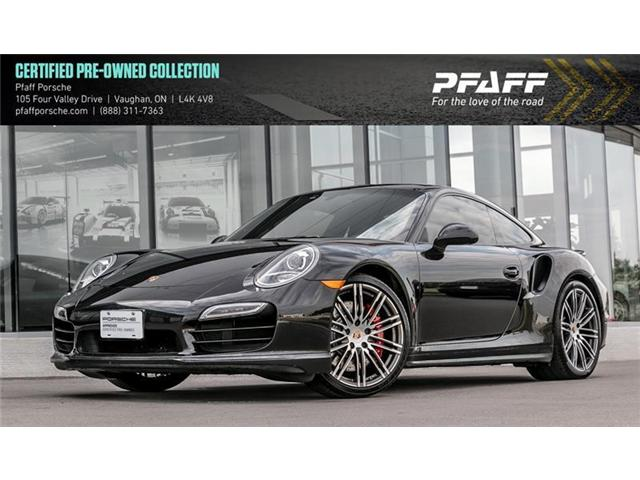 2014 Porsche 911 Turbo Coupe PDK (Stk: U7157) in Vaughan - Image 1 of 17