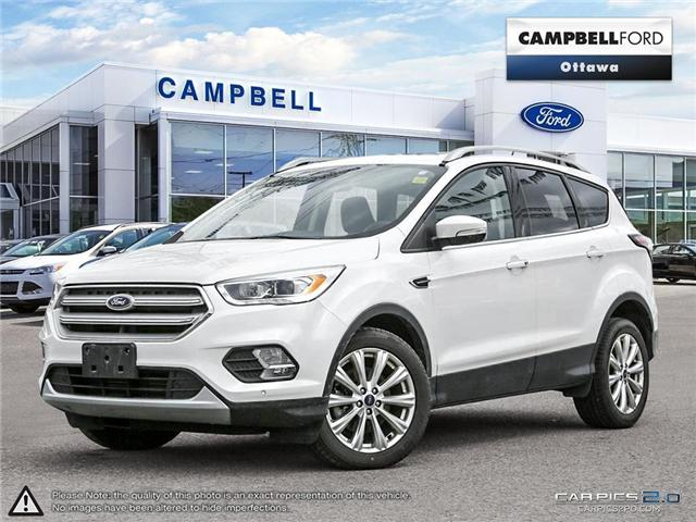 2018 Ford Escape Titanium AWD-NAV-LEATHER-POWER ROOF (Stk: 941810) in Ottawa - Image 1 of 28