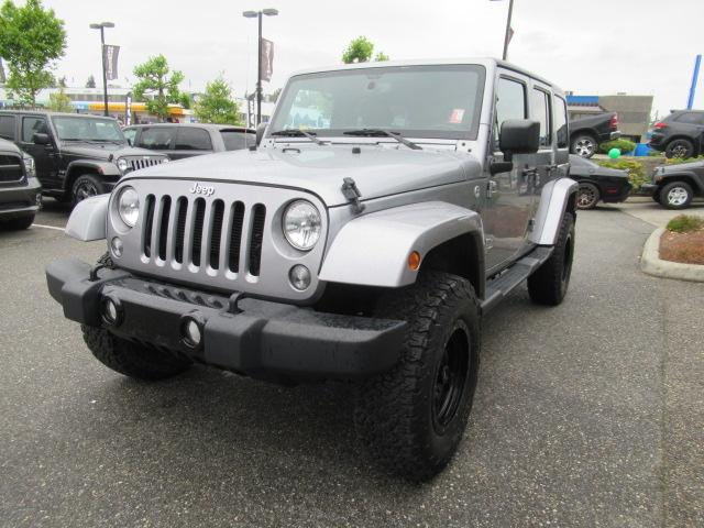 2015 Jeep Wrangler Unlimited Sahara (Stk: EE890810A) in Surrey - Image 3 of 28