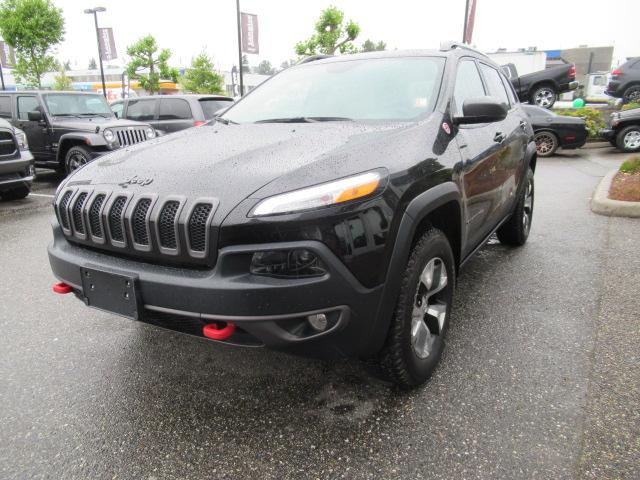 2017 Jeep Cherokee Trailhawk (Stk: EE893570) in Surrey - Image 3 of 29