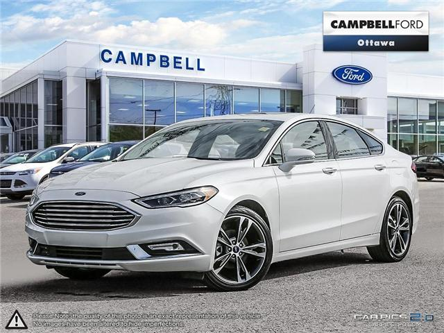 2017 Ford Fusion Titanium AWD-LOADED-NAV-LEATHER-POWER ROOF (Stk: 941750) in Ottawa - Image 1 of 27