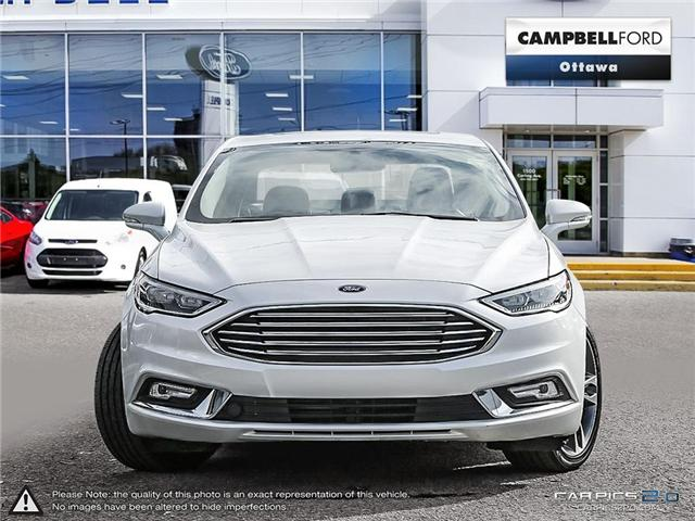 2017 Ford Fusion Titanium AWD-LOADED-NAV-LEATHER-POWER ROOF (Stk: 941750) in Ottawa - Image 2 of 27