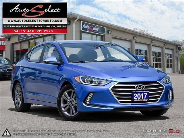 2017 Hyundai Elantra  (Stk: 17H16EL) in Scarborough - Image 1 of 28