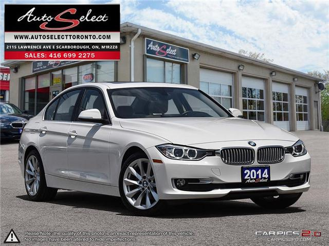 2014 BMW 320i xDrive (Stk: 14QW461) in Scarborough - Image 1 of 28