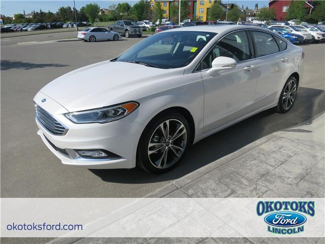 2017 Ford Fusion Titanium (Stk: B83083) in Okotoks - Image 1 of 22