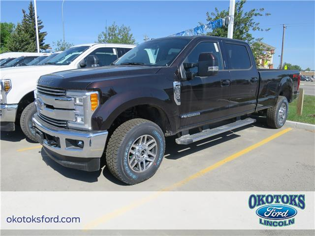 2018 Ford F-350 Lariat (Stk: JK-259) in Okotoks - Image 1 of 5