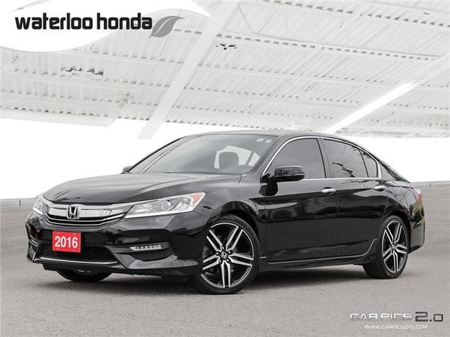 2016 Honda Accord Sport (Stk: U3970) in Waterloo - Image 1 of 28