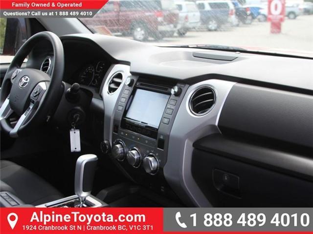 2018 Toyota Tundra SR5 Plus 5.7L V8 (Stk: X746850) in Cranbrook - Image 11 of 18