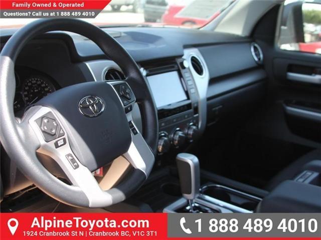 2018 Toyota Tundra SR5 Plus 5.7L V8 (Stk: X749859) in Cranbrook - Image 9 of 18