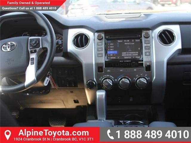 2018 Toyota Tundra SR5 Plus 5.7L V8 (Stk: X749859) in Cranbrook - Image 10 of 18