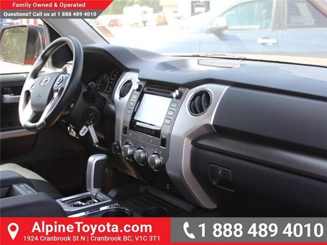 2018 Toyota Tundra SR5 Plus 5.7L V8 (Stk: X749859) in Cranbrook - Image 11 of 18