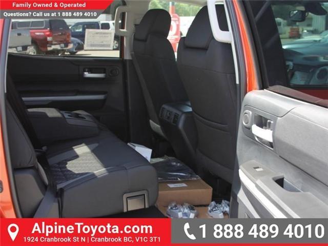 2018 Toyota Tundra SR5 Plus 5.7L V8 (Stk: X749859) in Cranbrook - Image 12 of 18
