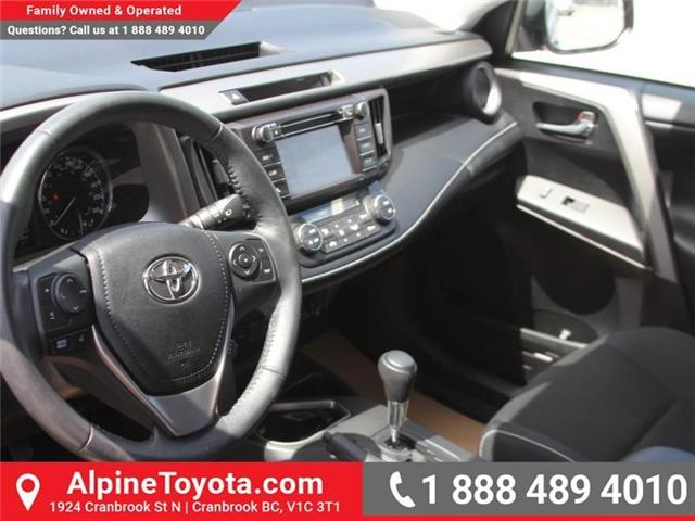 2016 Toyota RAV4 XLE (Stk: W787681A) in Cranbrook - Image 8 of 18