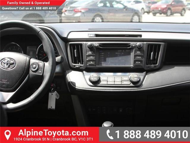 2016 Toyota RAV4 XLE (Stk: W787681A) in Cranbrook - Image 9 of 18