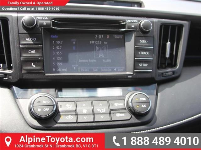 2016 Toyota RAV4 XLE (Stk: W787681A) in Cranbrook - Image 13 of 18