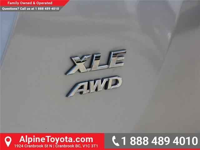 2016 Toyota RAV4 XLE (Stk: W787681A) in Cranbrook - Image 18 of 18
