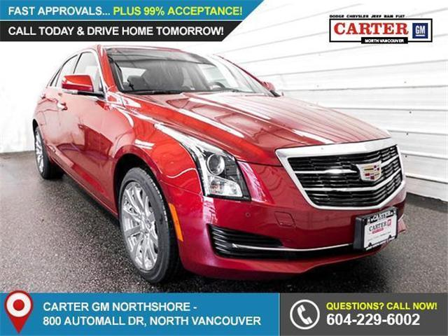 2018 Cadillac ATS 2.0L Turbo Luxury (Stk: 8D46370) in Vancouver - Image 1 of 7