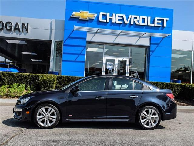 2016 Chevrolet Cruze Limited LTZ (Stk: A211800) in Scarborough - Image 2 of 27