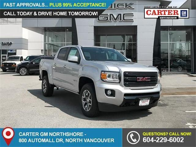 2018 GMC Canyon All Terrain w/Cloth (Stk: 8CN46540) in Vancouver - Image 1 of 7