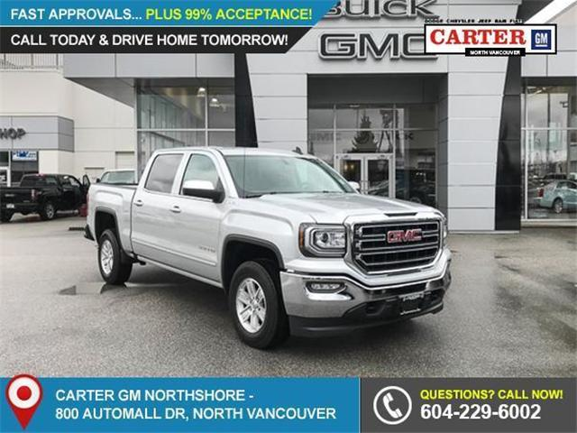 2018 GMC Sierra 1500 SLE (Stk: 8R78330) in North Vancouver - Image 1 of 7