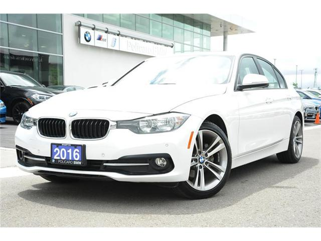 2016 BMW 320i xDrive (Stk: P689885) in Brampton - Image 1 of 13