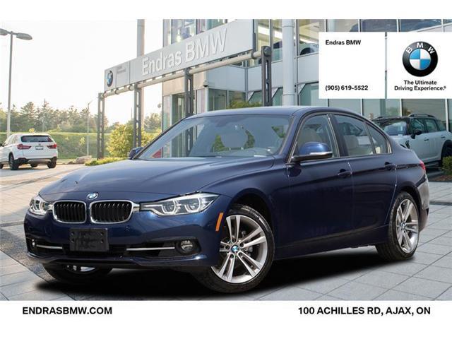 2018 BMW 330 i xDrive (Stk: 36037) in Ajax - Image 1 of 20