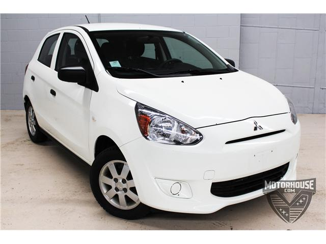 2015 Mitsubishi Mirage ES (Stk: ) in Carleton Place - Image 1 of 23
