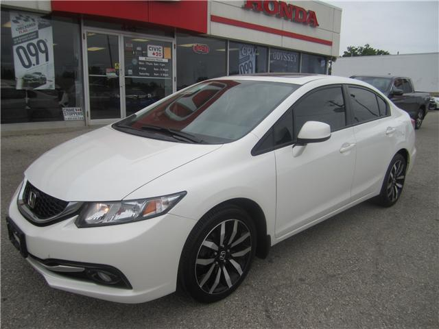 2013 Honda Civic Touring (Stk: 1832A ) in Simcoe - Image 1 of 16