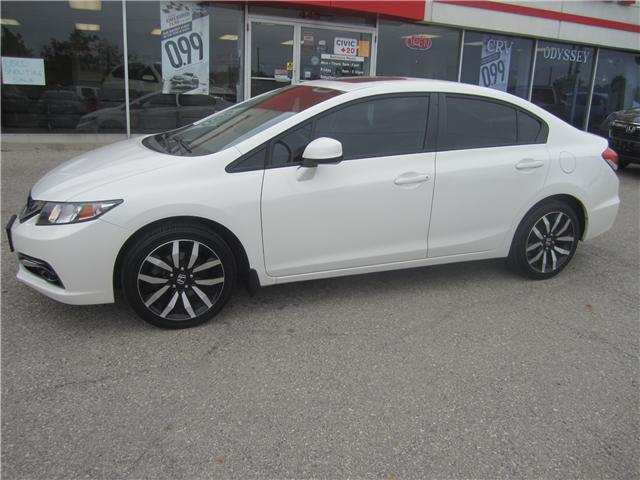 2013 Honda Civic Touring (Stk: 1832A ) in Simcoe - Image 2 of 16