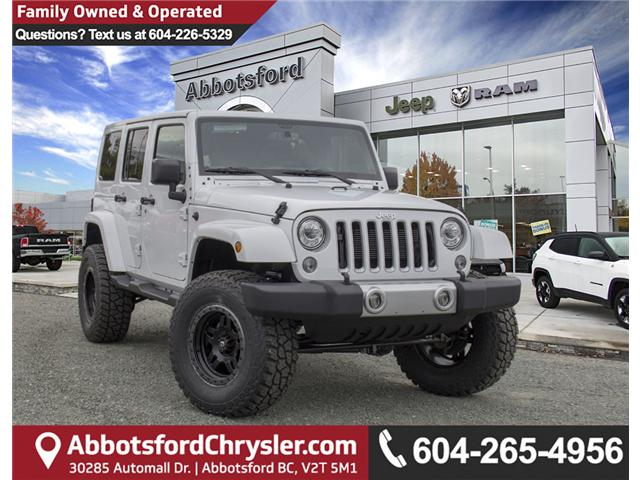 2018 Jeep Wrangler JK Unlimited Sahara (Stk: J802858) in Abbotsford - Image 1 of 23