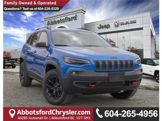 2019 Jeep Cherokee Trailhawk (Stk: K183625) in Abbotsford - Image 1 of 28
