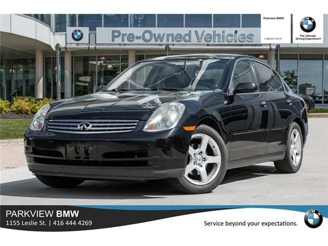 2003 Infiniti G35 Luxury (Stk: PP7984A) in Toronto - Image 1 of 20