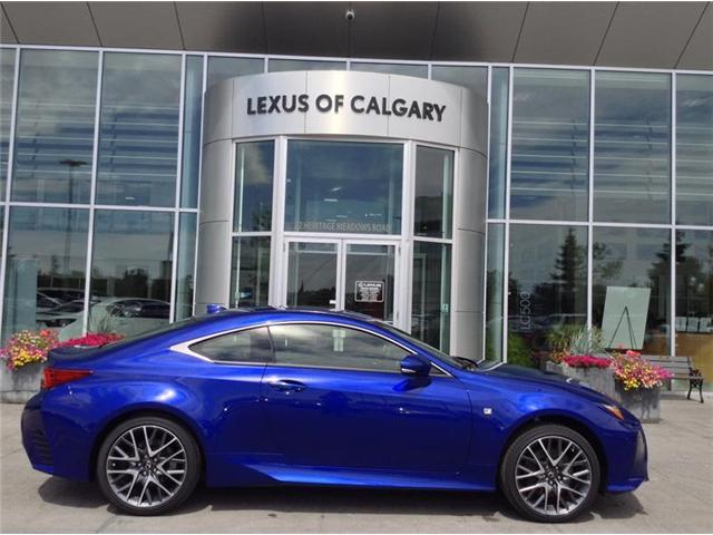 2018 Lexus RC 350 Base (Stk: 180213) in Calgary - Image 1 of 10